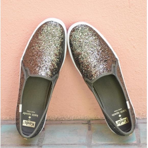 af918a63645 Keds Shoes - Keds x Kate Spade triple decker olive glitter